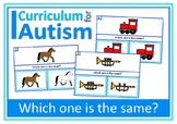 Visual Discrimination Thinking Skills, Autism, Special Education