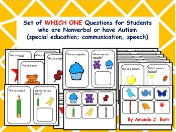 Autism - Which One Questions; Choices; Special Education: