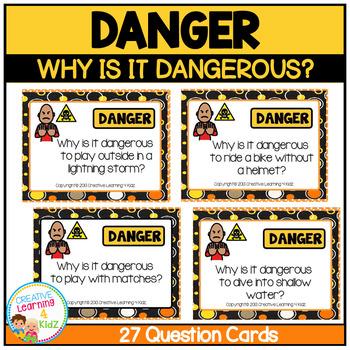 Safety Cards Why is it Dangerous Question Cards