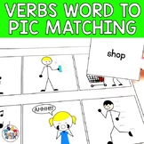 Verbs Word to Picture Matching