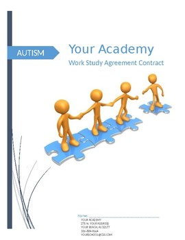 Autism Work Study Agreement Contract