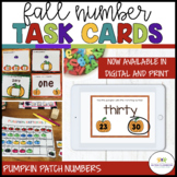 Autism Work Tasks: Pumpkin Patch Numbers [special ed.; ear