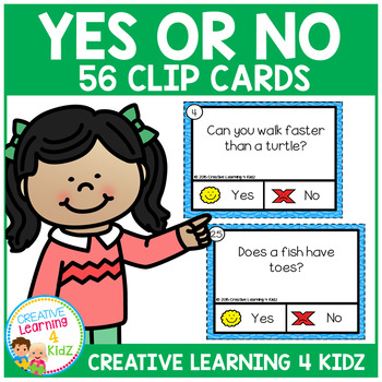Yes or No Questions Task Cards