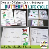 Butterfly Life Cycle Unit: Science Unit for Special Education