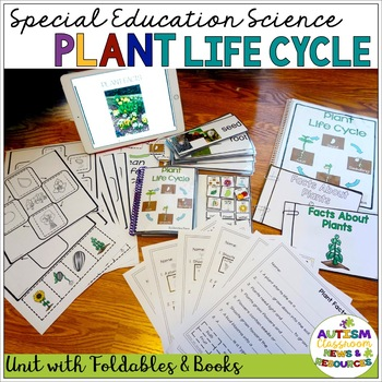 Autism and Special Education Science Plant Life Cycle Unit