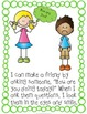 Autism and Special Education Social Story: I Can Make Friends