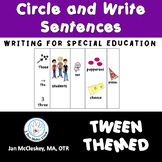#Sale Special Education Sentence Building Activity for Tweens
