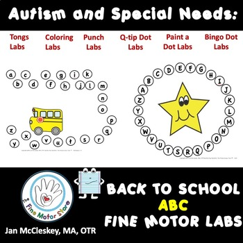 Autism and Special Needs: ABC Order Sequencing - BACK TO SCHOOL