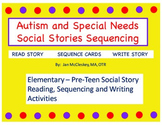Autism and Special Needs:  Social Stories and Sequencing Cards