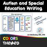 Autism and Special Needs Writing - Color Theme