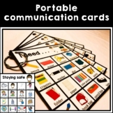 Autism and Speech Portable Visual Communication Cards