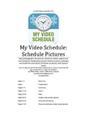 Autism and special needs Schedule picture cards