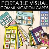 Autism and speech. 75 portable communication PECS cards.