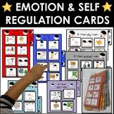 Autism behavior management portable emotion strategy cards