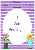 Autism feelings wall chart