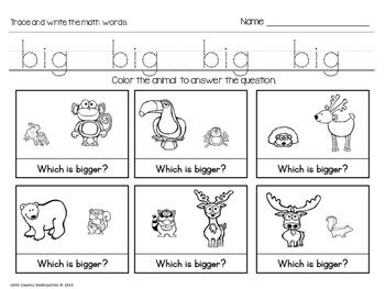 Autism or Kindergarten: Morning Work or Homework Month 10 of CCSS Math