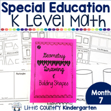 Special Education Morning Work: Month 7 of Kindergarten Level Math