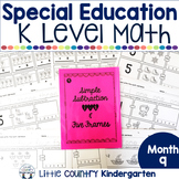 Special Education Morning Work: Month 9 of Kindergarten Level Math