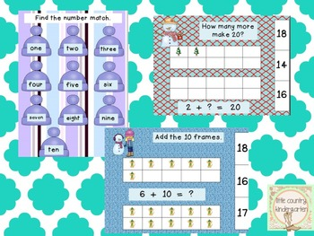 Kindergarten Centers for the Year: Literacy and Math Growing Bundle
