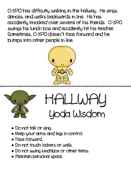 Autism/Asperger Classroom Management Power Cards - Star Wars Friends Theme