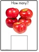 Autism/Kindergarten Common Core Differentiated Math Center  COUNTING APPLES