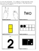Autism Kindergarten Common Core Differentiated Math Center WINTER THEME