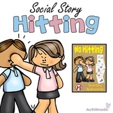 Social Story, NO HITTING with Social Skill Activities.