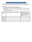 Auto Citing Websites Using Easbib.Com