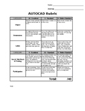AutoCAD Rubric