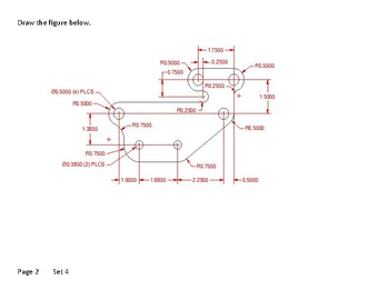 AutoCAD drawings, CAD drawings, Board drawings set 4