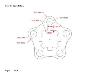 AutoCAD drawings, CAD drawings, Board drawings set 8