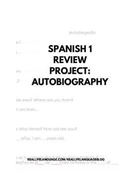 Autobiografía Review Project