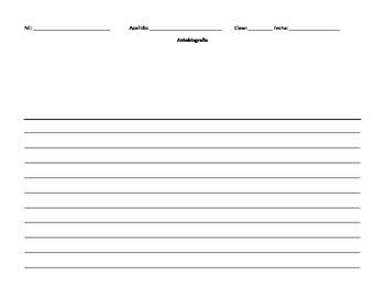 Autobiografía con rúbrica PDF