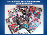 Autobiographical Sketchbook Cover Collages