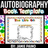 Autobiography All About Template