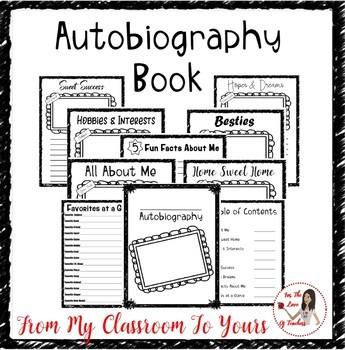 Autobiography Book