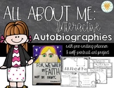 All About Me - Interactive Autobiography Book for Intermediate Grades