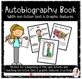 Autobiography Book With Non Fiction Text Features