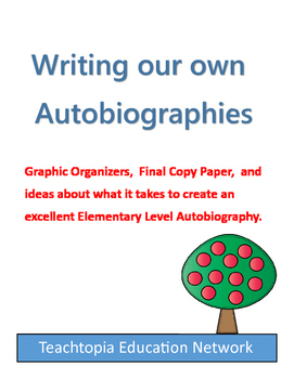 Autobiography Bundle  Writing your Own Autobiography
