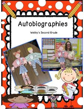 Common Core Aligned Autobiography Craftivity