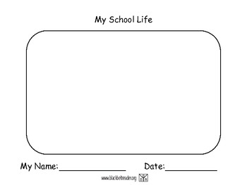 Autobiography Drawing Part 3 - My School Life