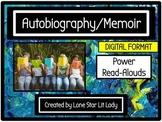 Autobiography/Memoir Power Read-Alouds (Digital Format)
