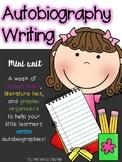 Autobiography Mini-Unit Writing Pages