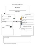 About Me Graphic Organizer (Autobiography Project)