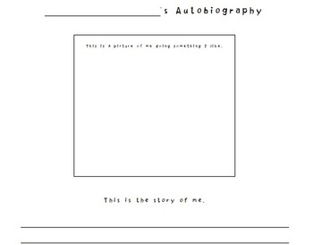 Autobiography Paper for Student Writing - Awesome!