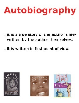 Autobiography Poster