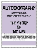 Autobiography Pre Planner (The Story of My Life)