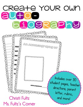 Autobiography Project for Writing Workshop