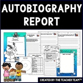 Autobiography Template | Autobiography Report