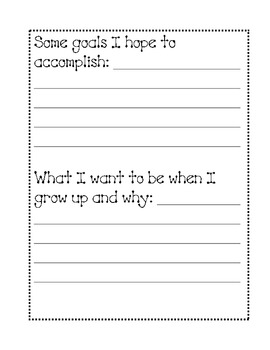 Autobiography Student Writing Packet